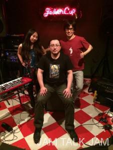 大和田千尋さんと林隆さんです。